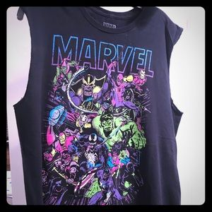 Marvel Superheroes Tank Top
